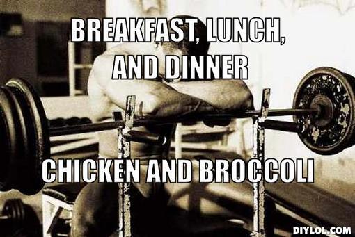 bodybuilder chicken